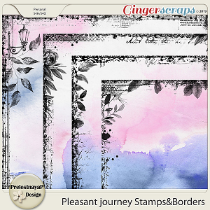 Pleasant journey Stamps&Borders
