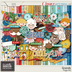 Grands Page Kit by Aimee Harrison