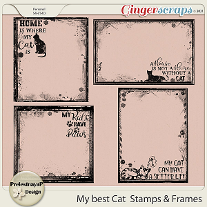 My best Cat Stamps & Frames