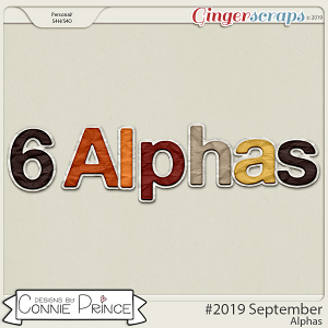 #2019 September - Alpha Pack AddOn by Connie Prince