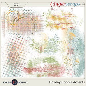 Holiday Hoopla Accents by Karen Schulz