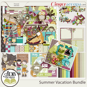 Summer Vacation Bundle by ADB Designs