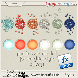 Sweet, Beautiful Life: Styles by LDragDesigns