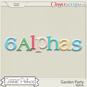Garden Party - Alpha Pack AddOn by Connie Prince