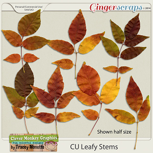 CU Leafy Stems by Clever Monkey Graphics