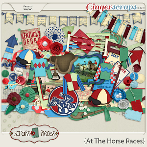 At The Horse Races Elements by Scraps N Pieces
