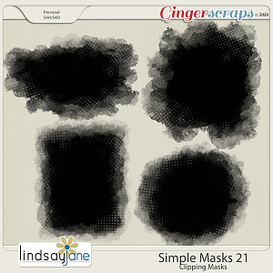 Simple Masks 21 by Lindsay Jane