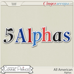 All American - Alpha Pack AddOn by Connie Prince