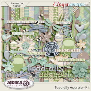 Toad-ally Adorable - Kit