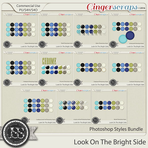 Look On The Bright Side CU Photoshop Styles Bundle
