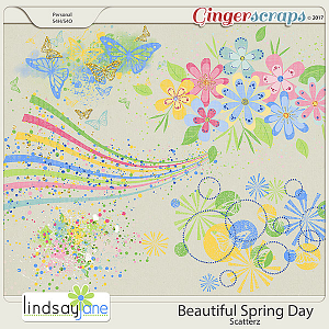 Beautiful Spring Day Scatterz by Lindsay Jane