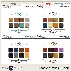 Leather Styles Bundle by Karen Schulz