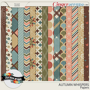 Warm and Cozy - Papers by Lisa Rosa Designs