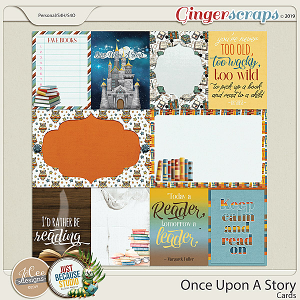 Once Upon A Story Cards by JoCee Designs and Just Because Studio