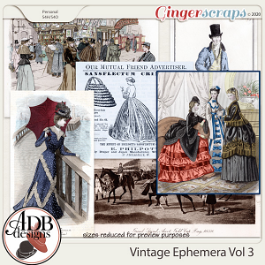 Heritage Resource Vintage Ephemera Vol 03 by ADB Designs
