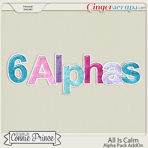 All Is Calm- Alpha Pack AddOn by Connie Prince