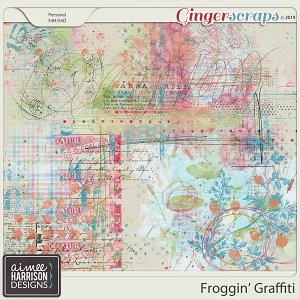 Froggin' Graffiti by Aimee Harrison