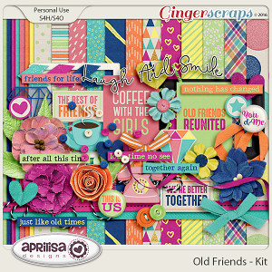 Old Friends - Kit by Aprilisa Designs