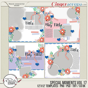 Special Moments- VOL.17 - Templates - by Neia Scraps