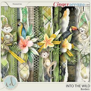 Into The Wild Borders by Ilonka's Designs