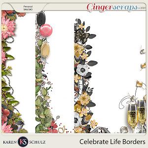 Celebrate Life Borders by Karen Schulz