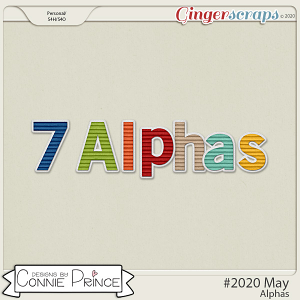 #2020 May - Alpha Pack AddOn by Connie Prince