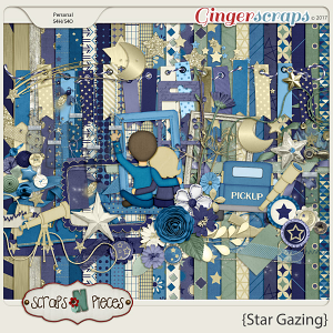 Star Gazing kit by Scraps N Pieces