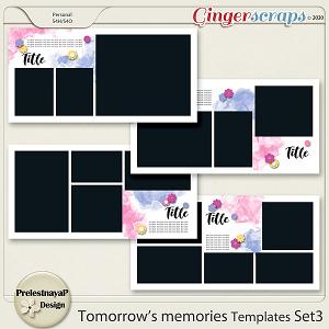 Tomorrow's memories templates Set 3