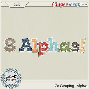 Go Camping - Alphas