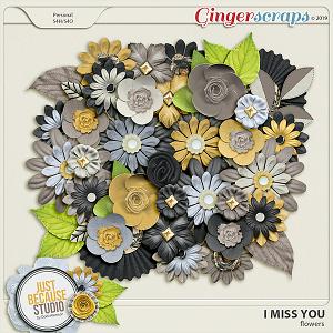 I Miss You Flowers by JB Studio