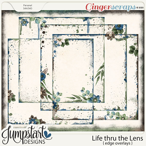 Life thru the Lens {Edge Overlays} by Jumpstart Designs