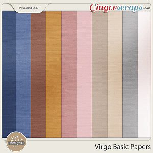 Virgo Basic Papers by JoCee Designs