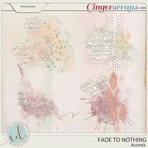 Fade To Nothing Accents by Ilonka's Designs