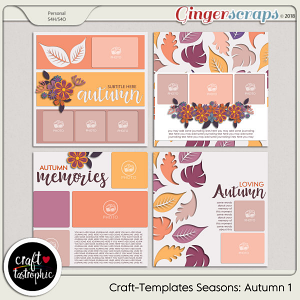 Craft-Templates Seasons Autumn 1
