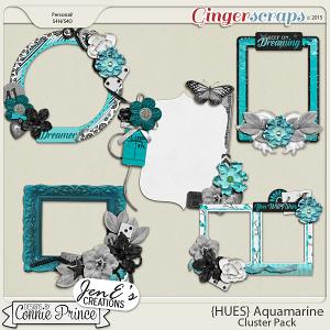 {HUES} Aquamarine - Cluster Pack