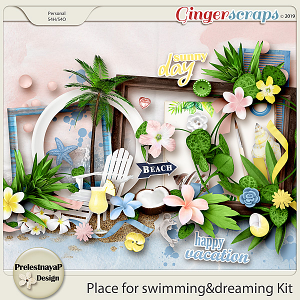 Place for swimming&dreaming Kit