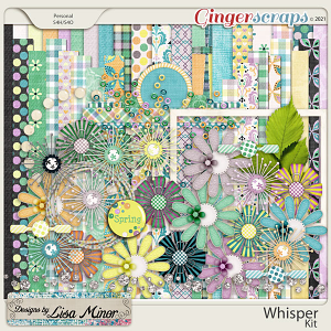 Whisper from Designs by Lisa Minor