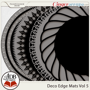 Deco Mats Vol 05 by ADB Designs