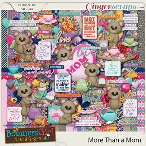 More Than a Mom by BoomersGirl Designs