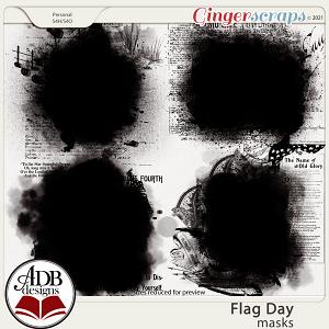 Flag Day Masks by ADB Designs
