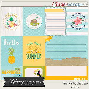 Friends by the Sea Cards
