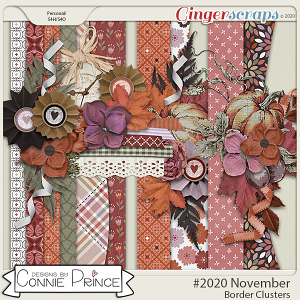 #2020 November - Border Clusters by Connie Prince