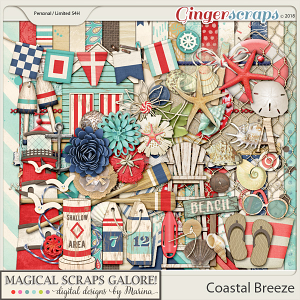 Coastal Breeze (page kit)