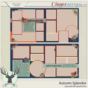 Autumn Splendor by Dear Friends Designs