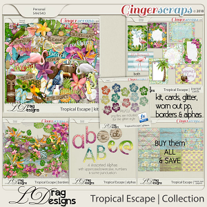 Tropical Escape: The Collection by LDragDesigns