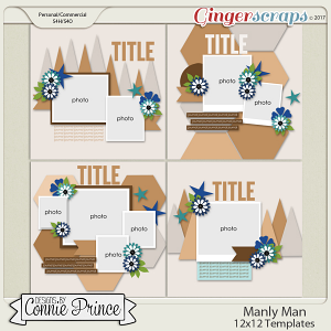 Manly Man - 12x12 Temps (CU Ok)