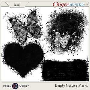 Empty Nesters Masks by Karen Schulz