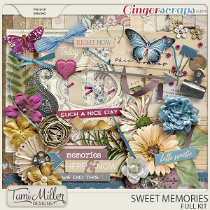 Sweet Memories Full Kit by Tami Miller Designs