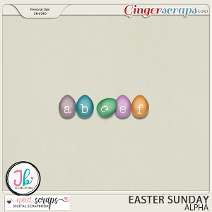 Easter Sunday - Alpha - by Neia Scraps and JB Studio