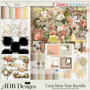 Cozy New Year Bundle by ADB Designs